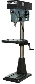 The Palmgren 12-Speed Floor Drill Press