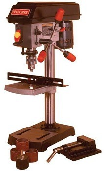 Craftsman 9-Inch Drill Press review